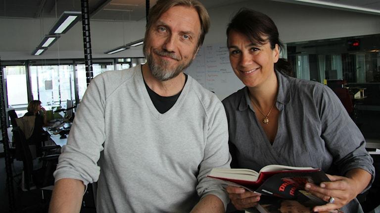 Erik Blix och Alexandra Zazzi.