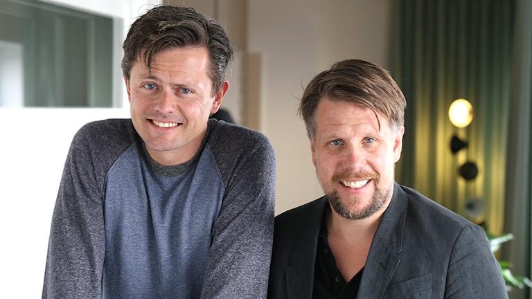 Filip och Fredrik. Foto: Åsa Stöckel/Sveriges Radio