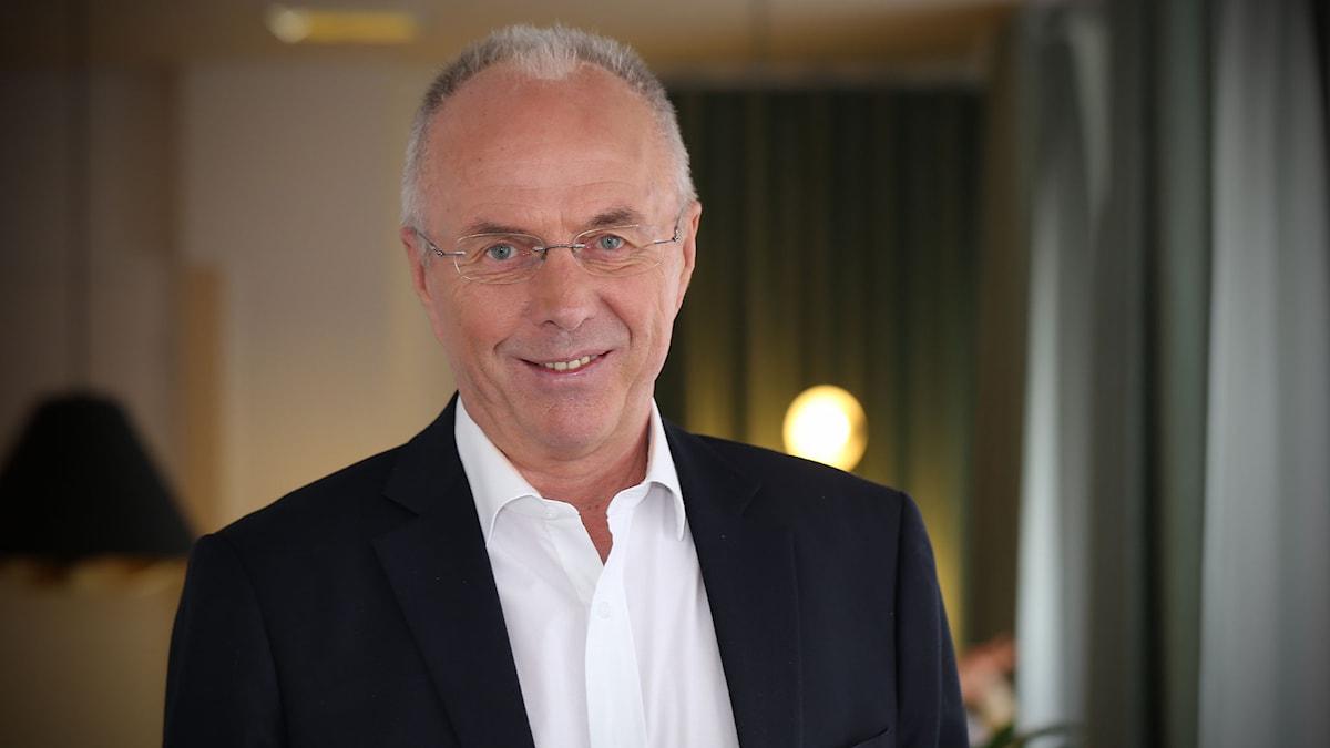 """Sven-Göran """"Svennis"""" Eriksson. Foto: Åsa Stöckel/Sveriges Radio"""
