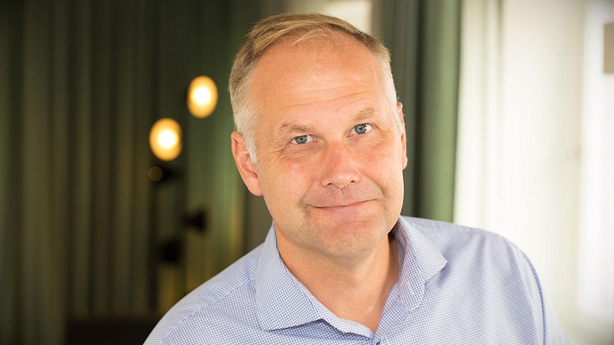 Jonas Sjöstedt. Foto: Åsa Stöckel/Sveriges Radio