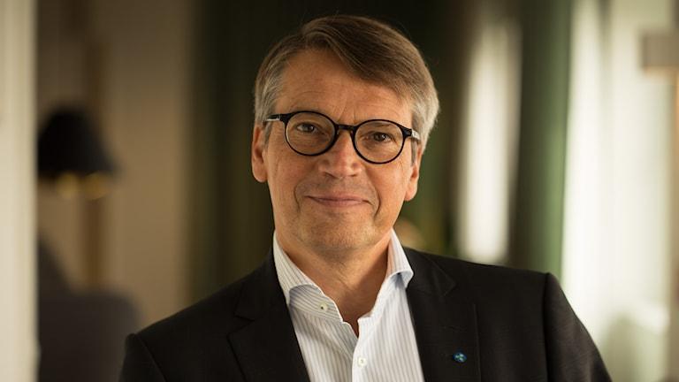 Göran Hägglund (KD). Foto: Åsa Stöckel/Sveriges Radio