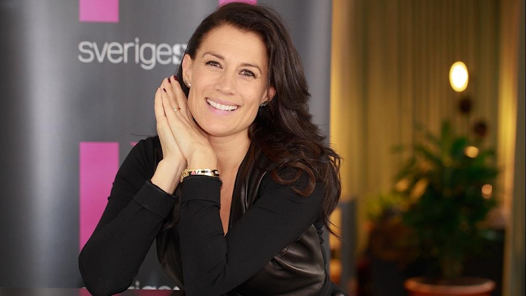 Jill Johnson. Foto: Åsa Stöckel/Sveriges Radio