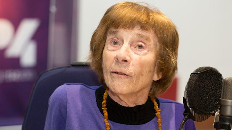 Margareta Levan. Foto: Åsa Stöckel/Sveriges Radio