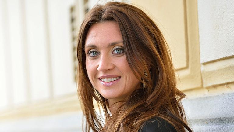 Camilla Läckberg är dagens gäst i P4 Extra. Foto: Henrik Montgomery/ TT