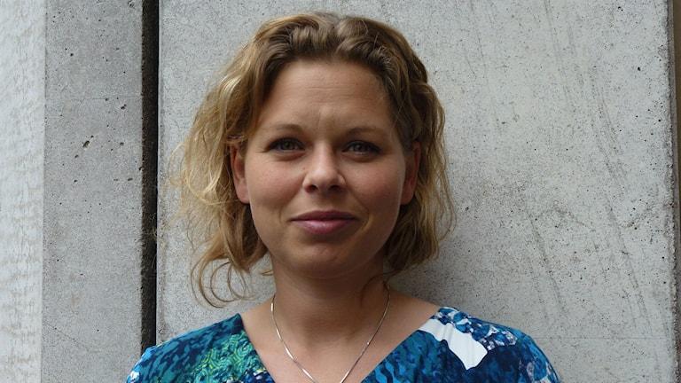 Karin Svensson, ordförande för Riksorganisationen för kvinnojourer och tjejjourer i Sverige. Foto: Mynewsdesk