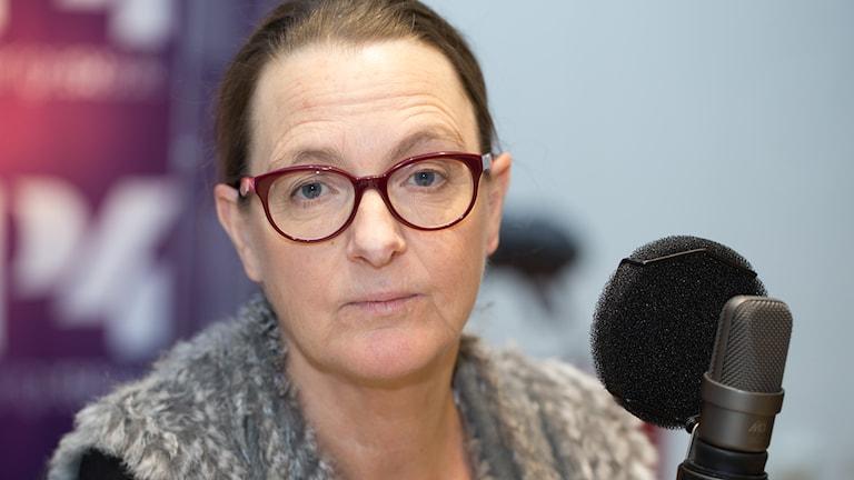 Ann Allan. Foto: Åsa Stöckel/Sveriges Radio