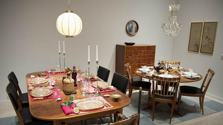 Estrid Ericssons dukade bord på Sven Harrys konsthall i Stockholm