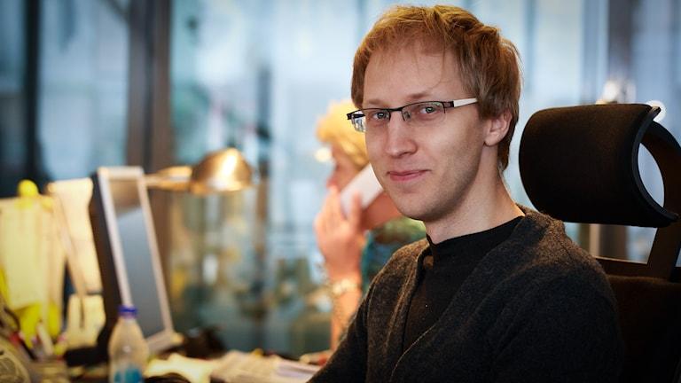 Jesper Cederberg. Foto: Åsa Stöckel/Sveriges Radio