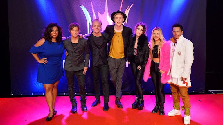 Startfält 3 i Melodifestivalen. Foto: Henrik Montgomery/TT