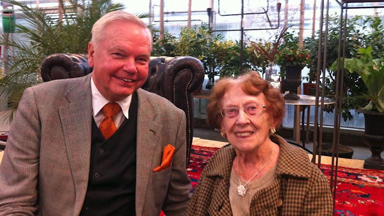Carl Jan Granqvist och Margit.