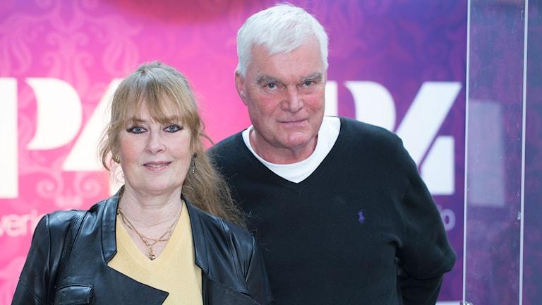 Marie-Louise Ekman och Lasse Bengtsson. Foto: Åsa Stöckel/Sveriges Radio
