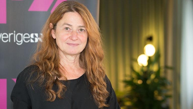 Kristina Lindström. Foto: Åsa Stöckel/Sveriges Radio
