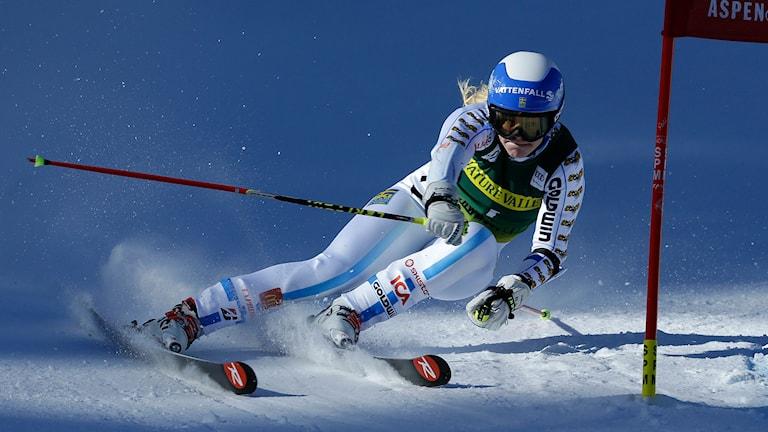 Jessica Lindell-Vikarby. Foto: John Locher/AP Photo/TT
