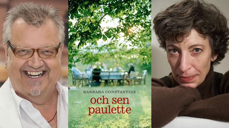 bokomslag. Foto: Åsa Stöckel/Sveriges Radio, Sekwa förlag och Tanya Constantine