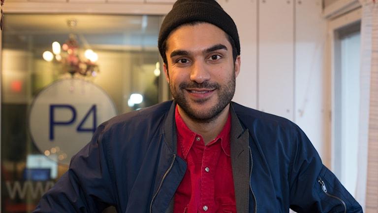 Farzad Farzaneh. Foto: Åsa Stöckel/Sveriges Radio