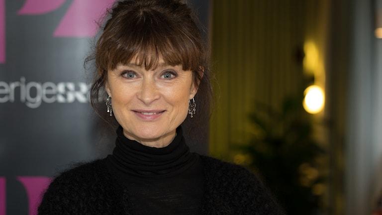Lena Endre. Foto: Åsa Stöckel/Sveriges Radio