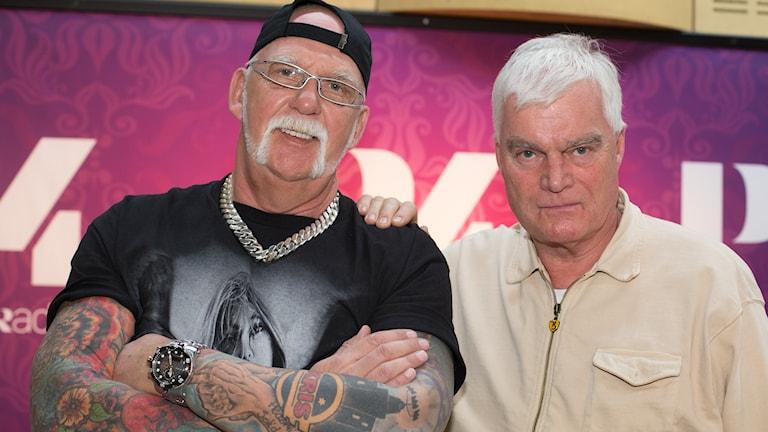 Christer Karlsson och Lasse Bengtsson. Foto: Åsa Stöckel/Sveriges Radio