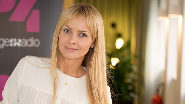 Izabella Scorupco. Foto: Åsa Stöckel/Sveriges Radio