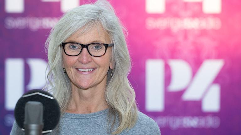 Ulla Karlström. Foto: Åsa Stöckel/Sveriges Radio.