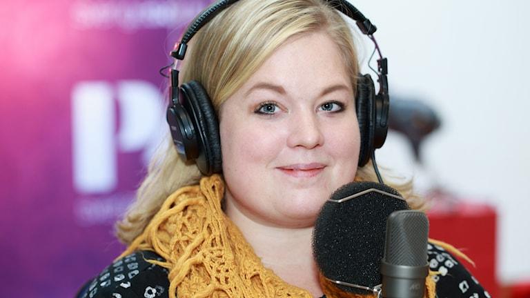Jessica Johansson. Foto: Åsa Stöckel/Sveriges Radio