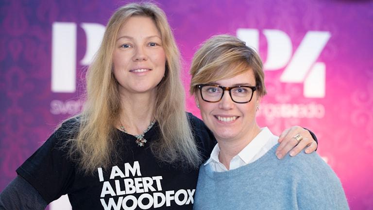 Meja och Ylva Lilja. Foto: Åsa Stöckel/Sveriges Radio