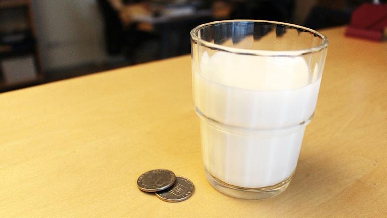 En krona mer för mjölk?