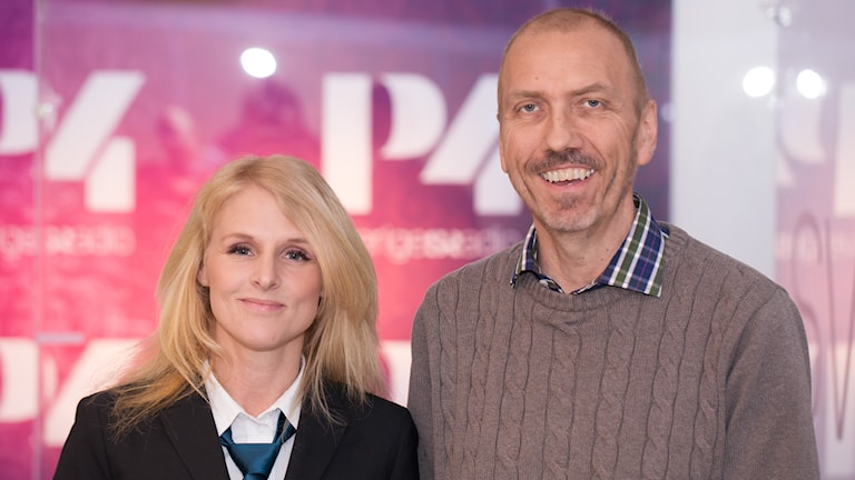 Karin af Klintberg och Erik Blix. Foto: Åsa Stöckel/Sveriges Radio