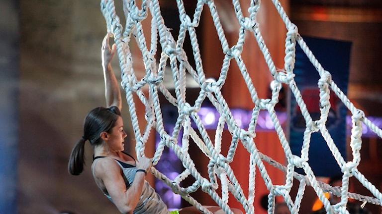 Amerikanska Ninja Warrior. Foto:Peter Larsen/AP Photo/NBC/TT