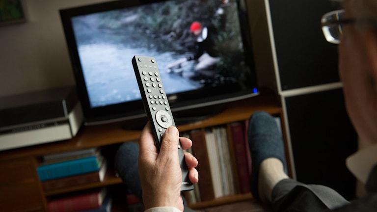 TV. Foto: Fredrik Sandberg/TT