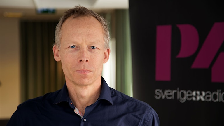Johan Rockström. Foto: Åsa Stöckel/Sveriges Radio