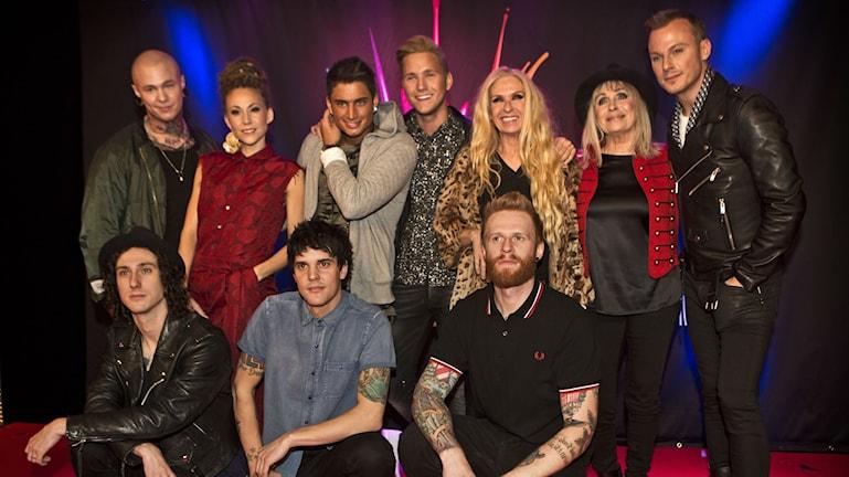 SVT1 Melodifestivalen 2015: Deltagarna i deltävling 2 från Malmö