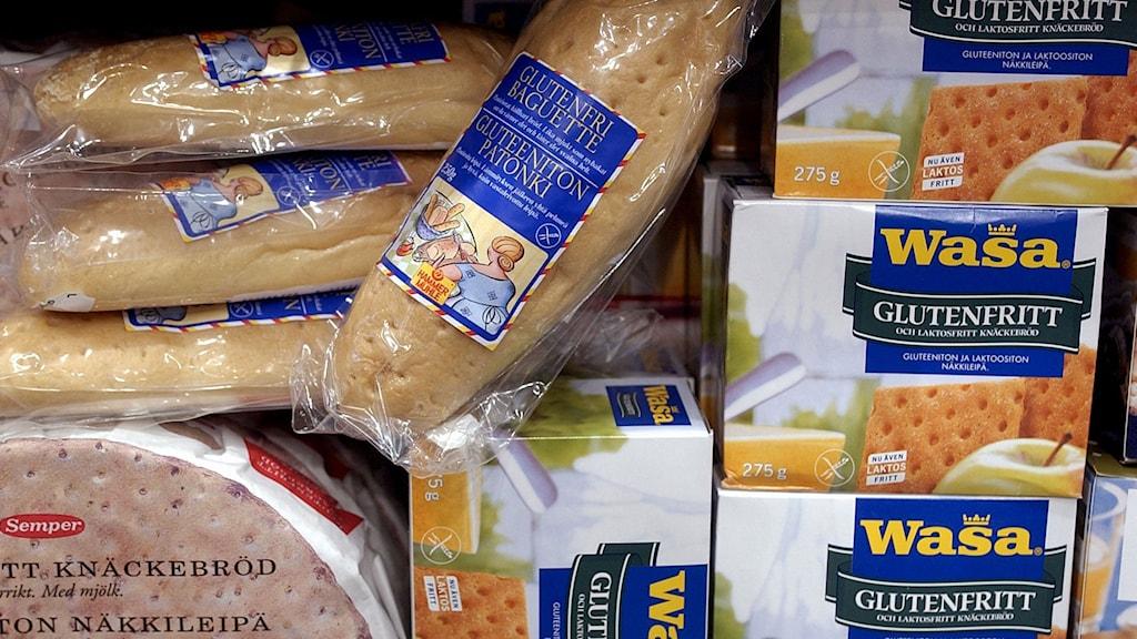 Glutenfria produkter. Foto: Claudio Bresciani/TT