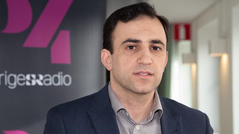 Afram Yakoub, the general director of Swedish National Association of Assyrians. Photo: Åsa Stöckel/Sveriges Radio