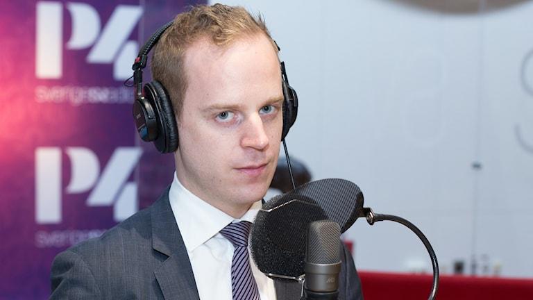 Gustav Kasselstrand. Foto: Åsa Stöckel/Sveriges Radio