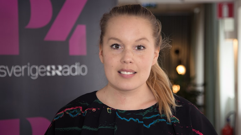 Lisa Eriksson. Foto: Åsa Stöckel/Sveriges Radio