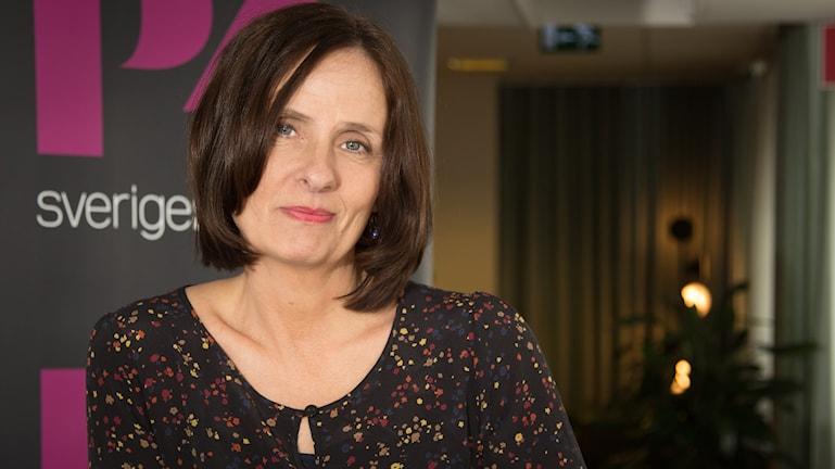 Susanna Alakoski. Foto: Åsa Stöckel/Sveriges Radio