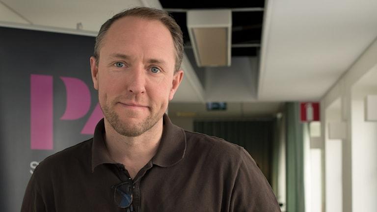 Mattias Klum. Foto: Åsa Stöckel/Sveriges Radio