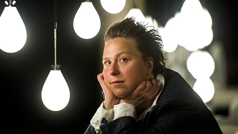 En av artisterna, Nino Ramsby. Foto: Leif R Jansson/TT
