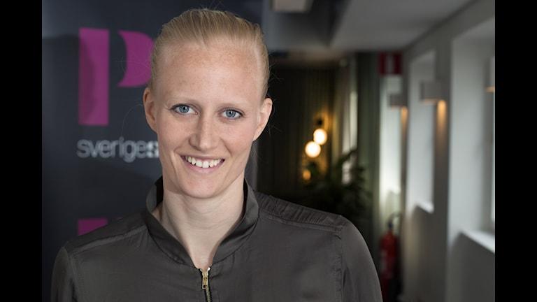 Carolina Klüft. Foto: Åsa Stöckel/Sveriges Radio