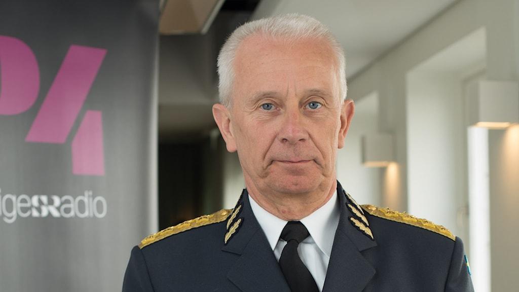 ÖB Sverker Göranson. Foto: Åsa Stöckel/Sveriges Radio