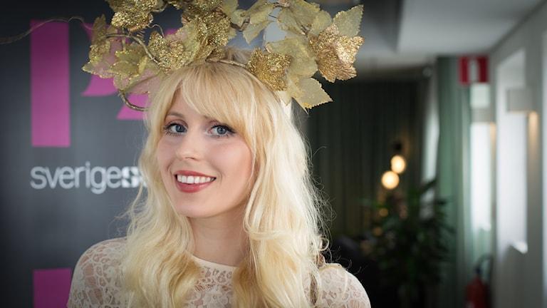 Amanda Jenssen. Foto: Åsa Stöckel/Sveriges Radio