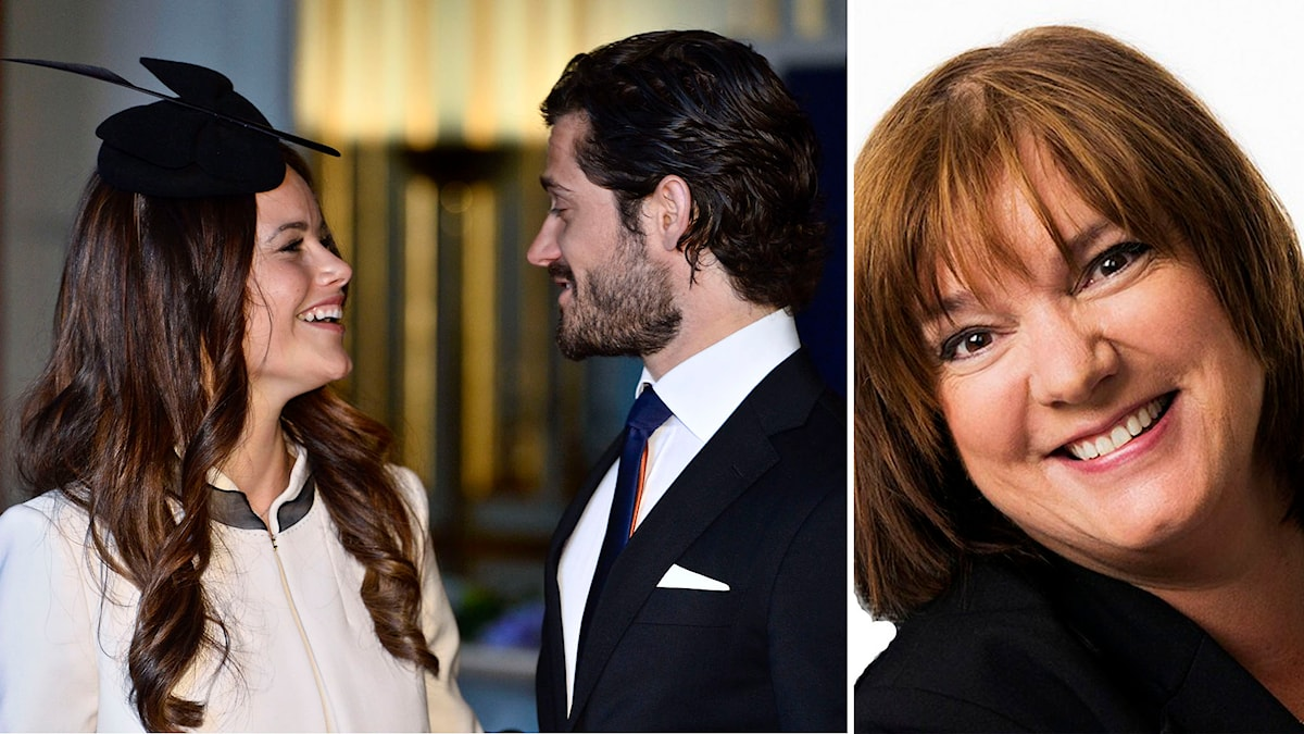 Prins Carl Philip och Sofia Hellqvist. Foto: Claudio Bresciani/TT. Lotta Bromé. Foto: Mattias Ahlm/Sveriges Radio