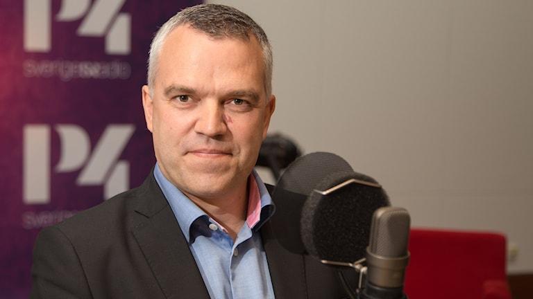 Erik Lewin. Foto: Åsa Stöckel/Sveriges Radio