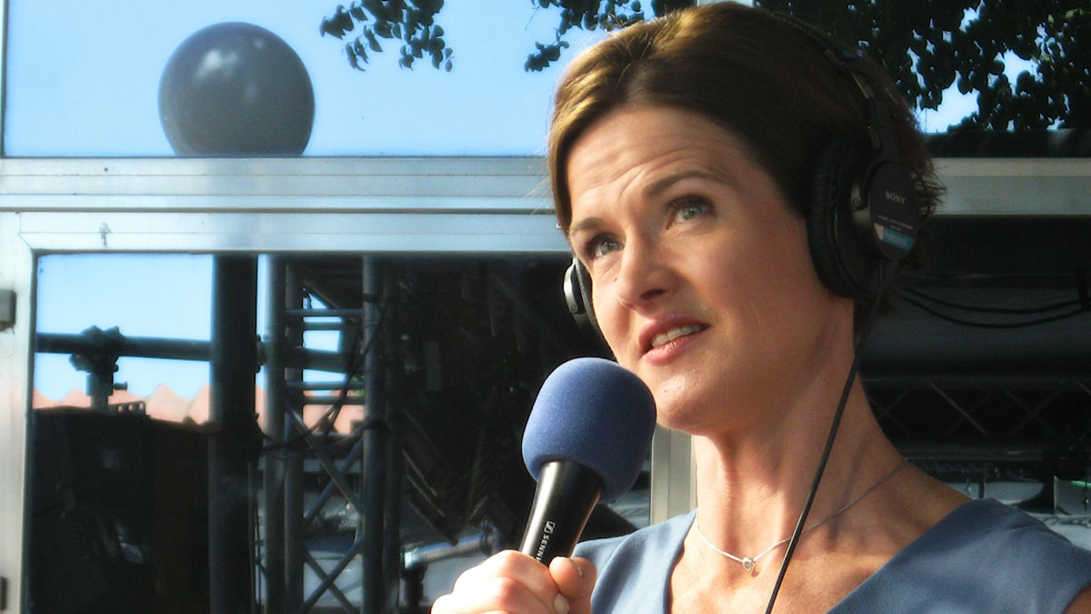 Anna Kinberg Batra. Foto: Jesper Cederberg/Sveriges Radio