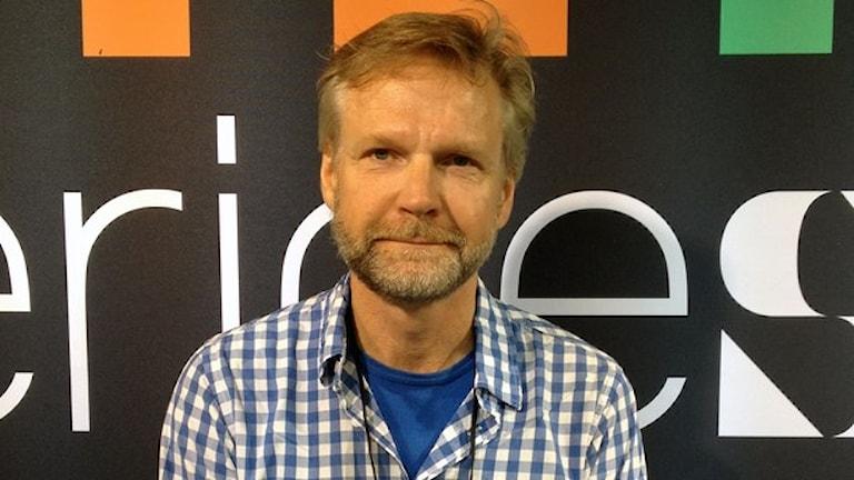 Sveriges Radios politiske kommentator Thomas Ramberg. Foto: Sveriges Radio