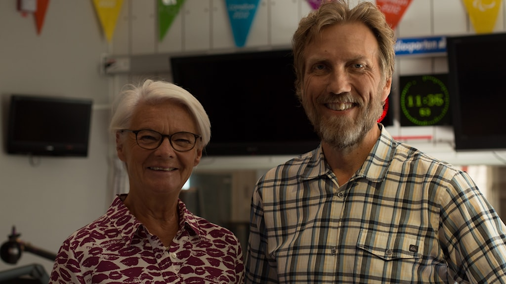 Elisabeth Tarras-Wahlberg och Erik Blix. Foto: Åsa Stöckel/Sveriges Radio