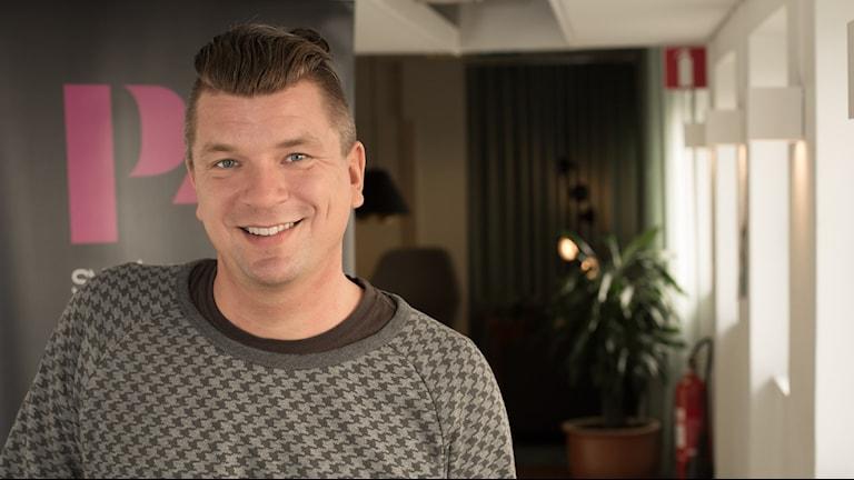 Mats Strandberg. Foto: Åsa Stöckel/Sveriges Radio