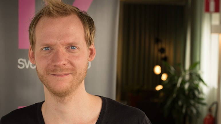 Johan Häglerud. Foto: Åsa Stöckel/Sveriges Radio