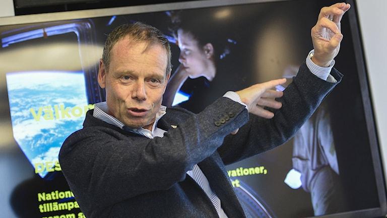Christer Fuglesang träffar sina likar i helgen. Foto: Jonas Ekströmer/TT