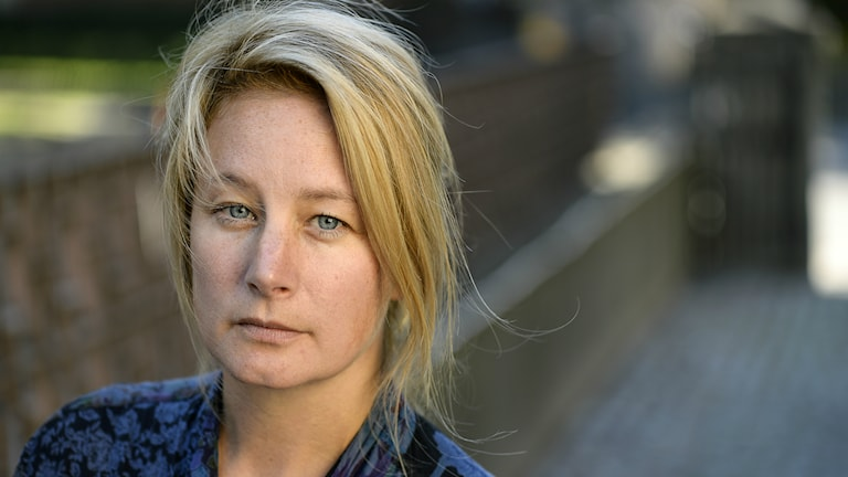 Dagens gäst är regissören Beata Gårdeler. Foto: Anders Wiklund/TT
